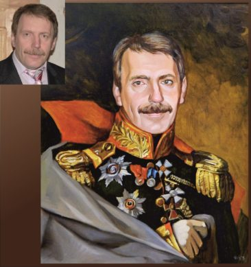 Настоящий портрет маслом на заказ в Нур-султане…