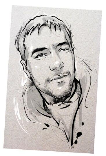 Портрет карандашом любимому мужу в Нур-султане…