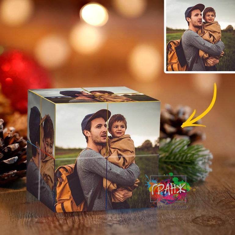 Фотокубик трансформер, купить в подарок Нур Султан